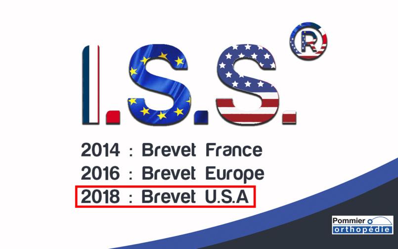 L' I.S.S. ® a maintenant son Brevet aux Etats-Unis.